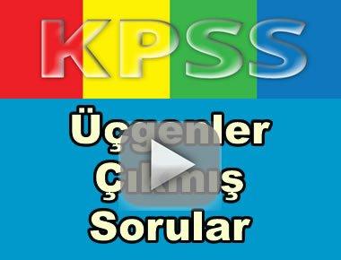 Kpss geometri üçgenler çıkmış soru çözümleri