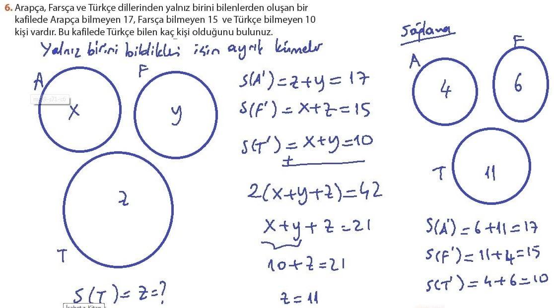 9 Sınıf Matematik Ders Kitabı Meb Yayınları çözümleri Sayfa 18 28